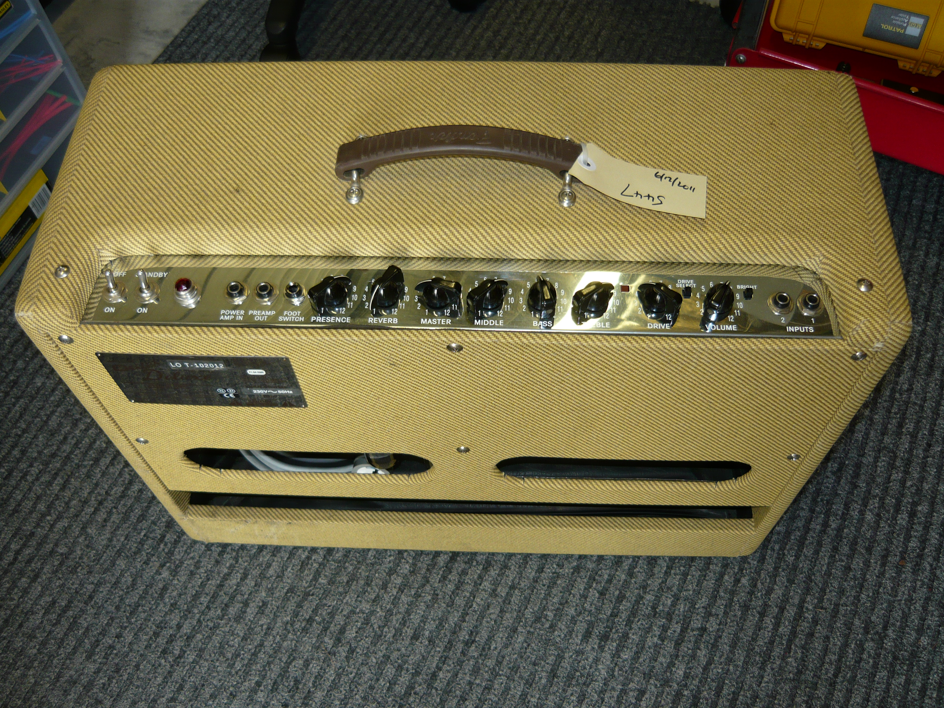 Harmonica Amp Input Jack Wiring Simple Electronic Circuits Fender Modifying Popular Valve Guitar Amps For The Blues Harp Player Rh Ivanrichards Com Au Speaker Strat