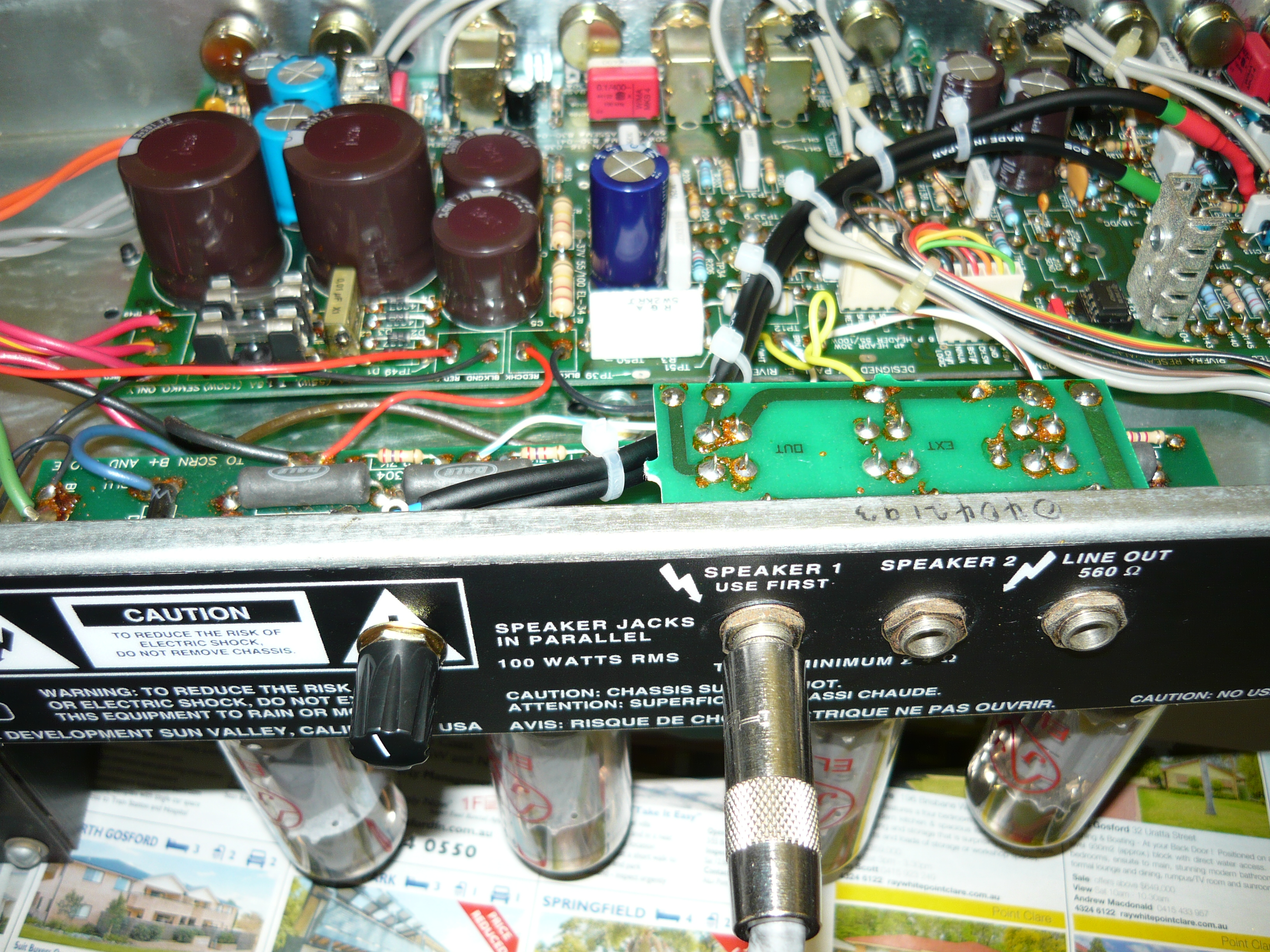 More About Rivera Amps The Ninja Boost Mod Ivanrichards Wiring A Capacitor To 2 As