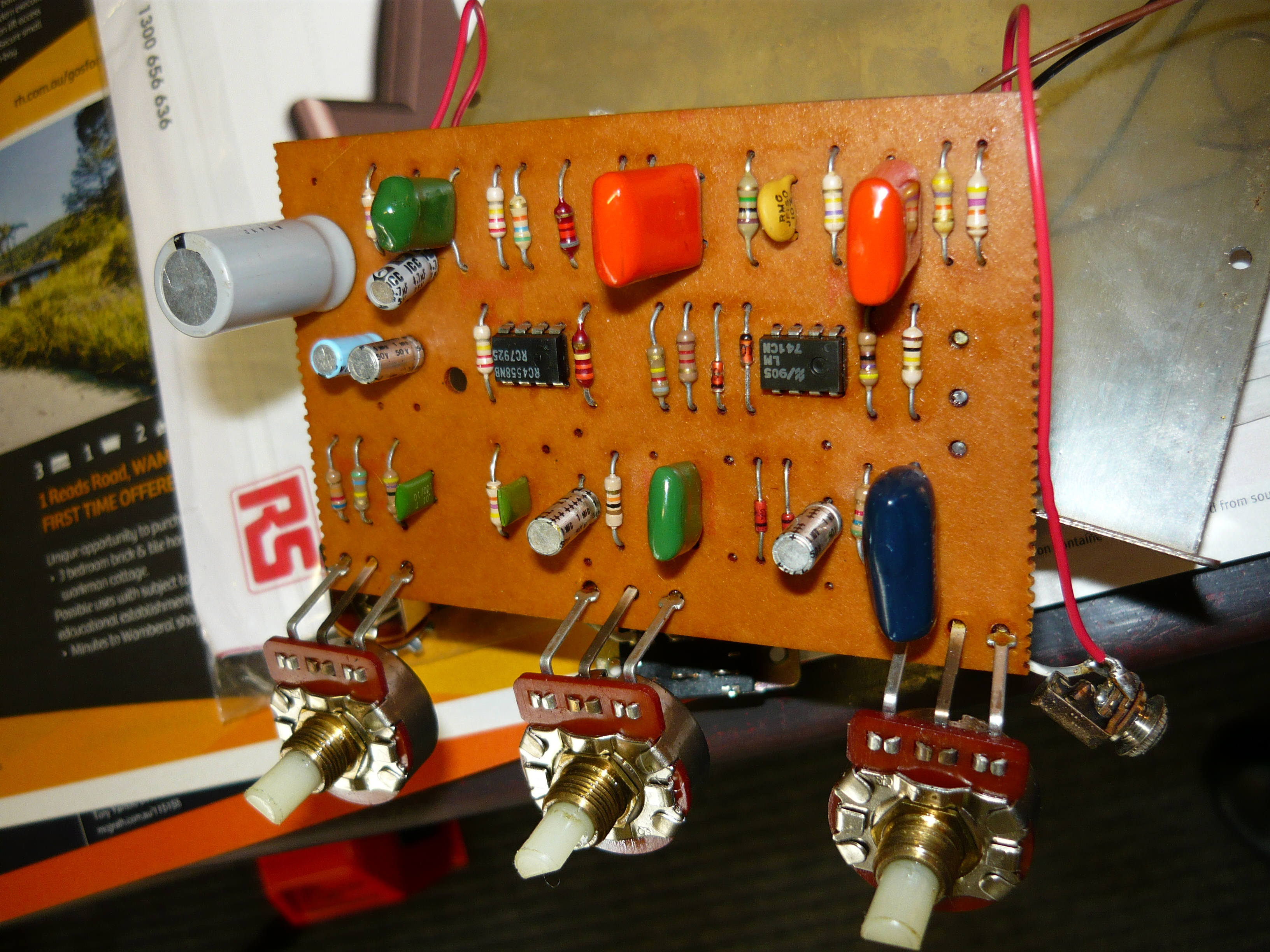 Pedals Ivanrichards Related Posts To Fuzz Box Schematics Central And Pcbs