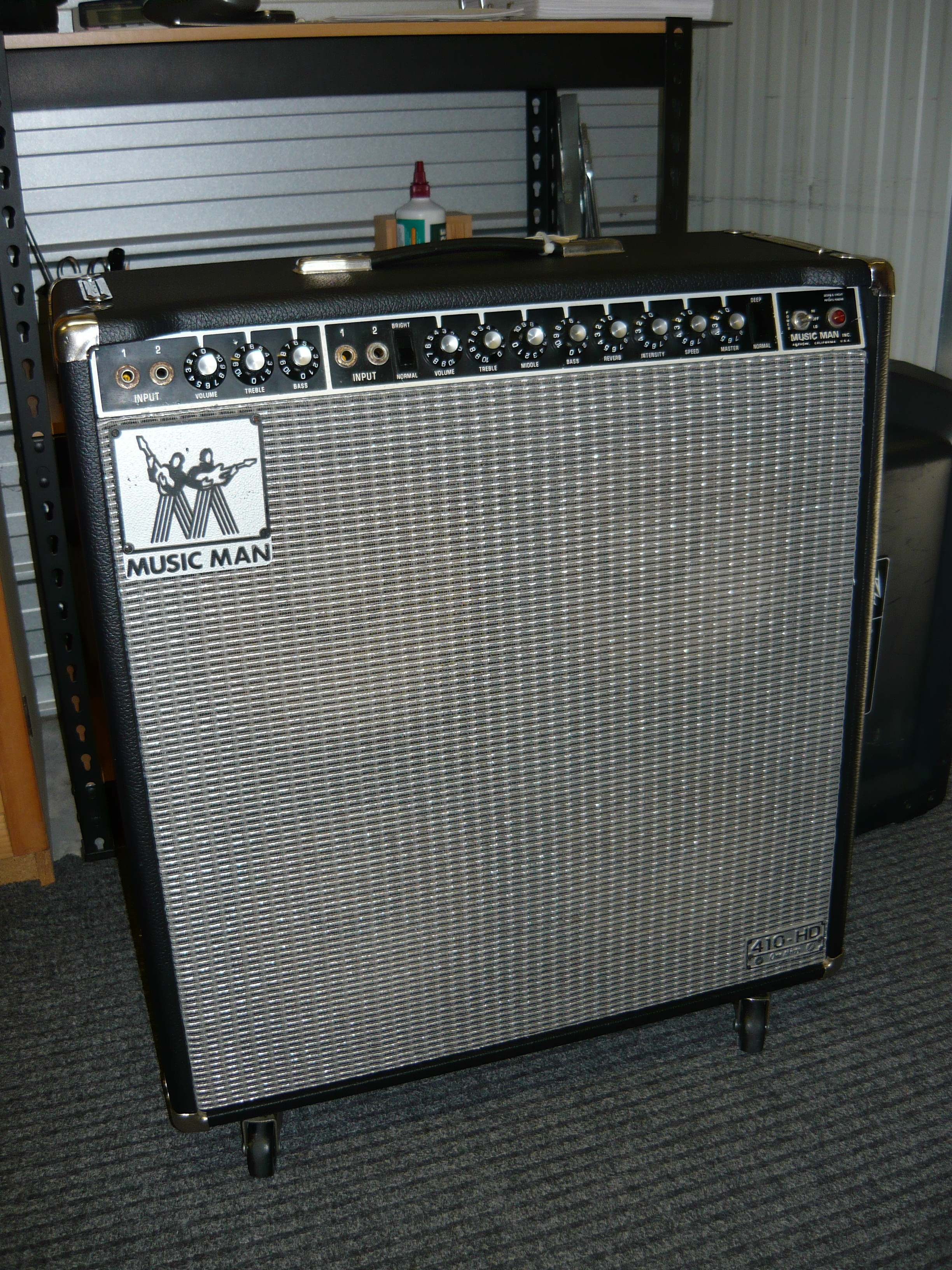 Musicman Bass Amp it Also Makes a Good Bass Amp