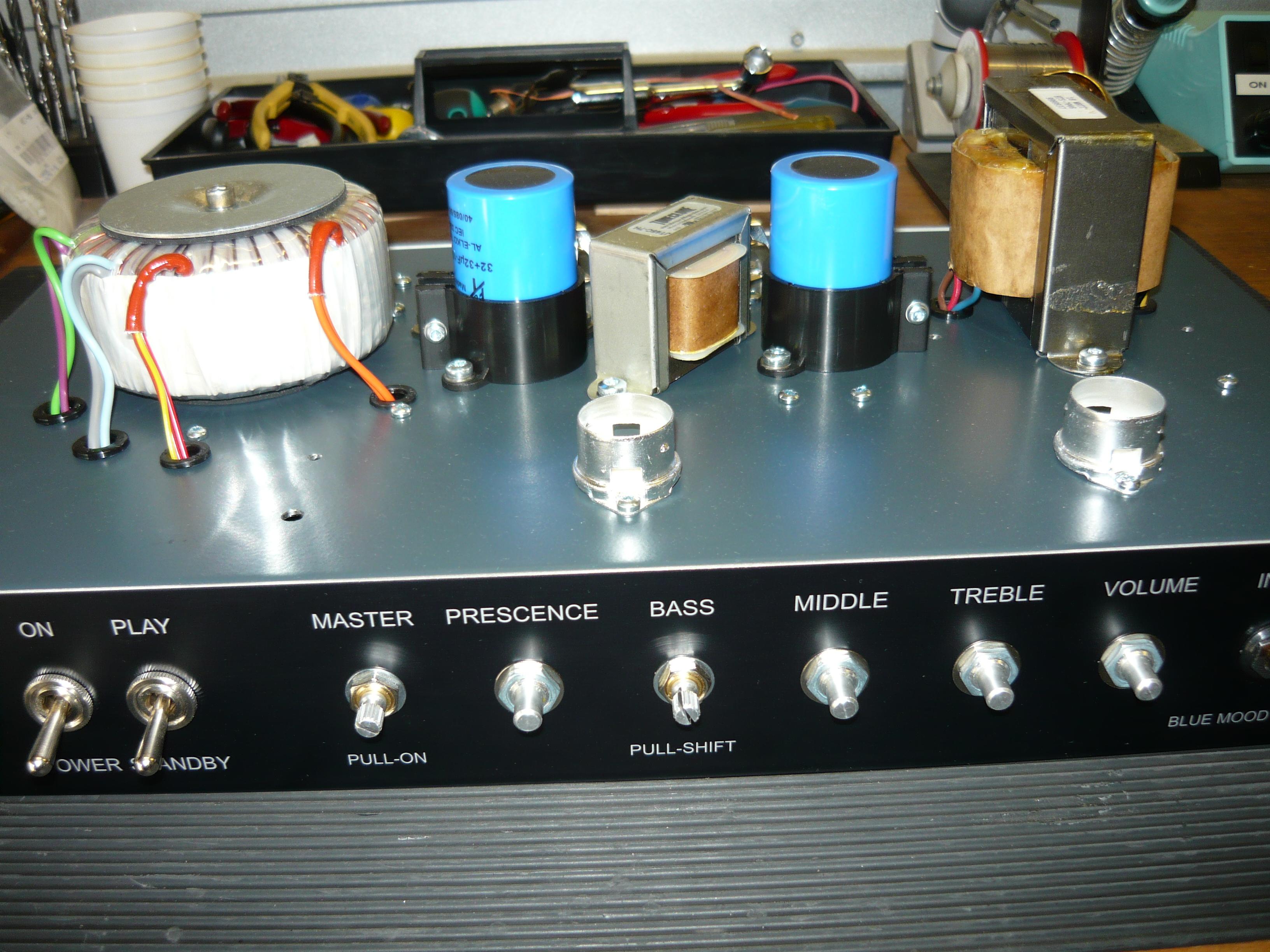 Victor\'s custom amplifier build progress | ivanrichards