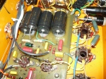 Orange Graphic 100 HV capacitors replaced & board repaired