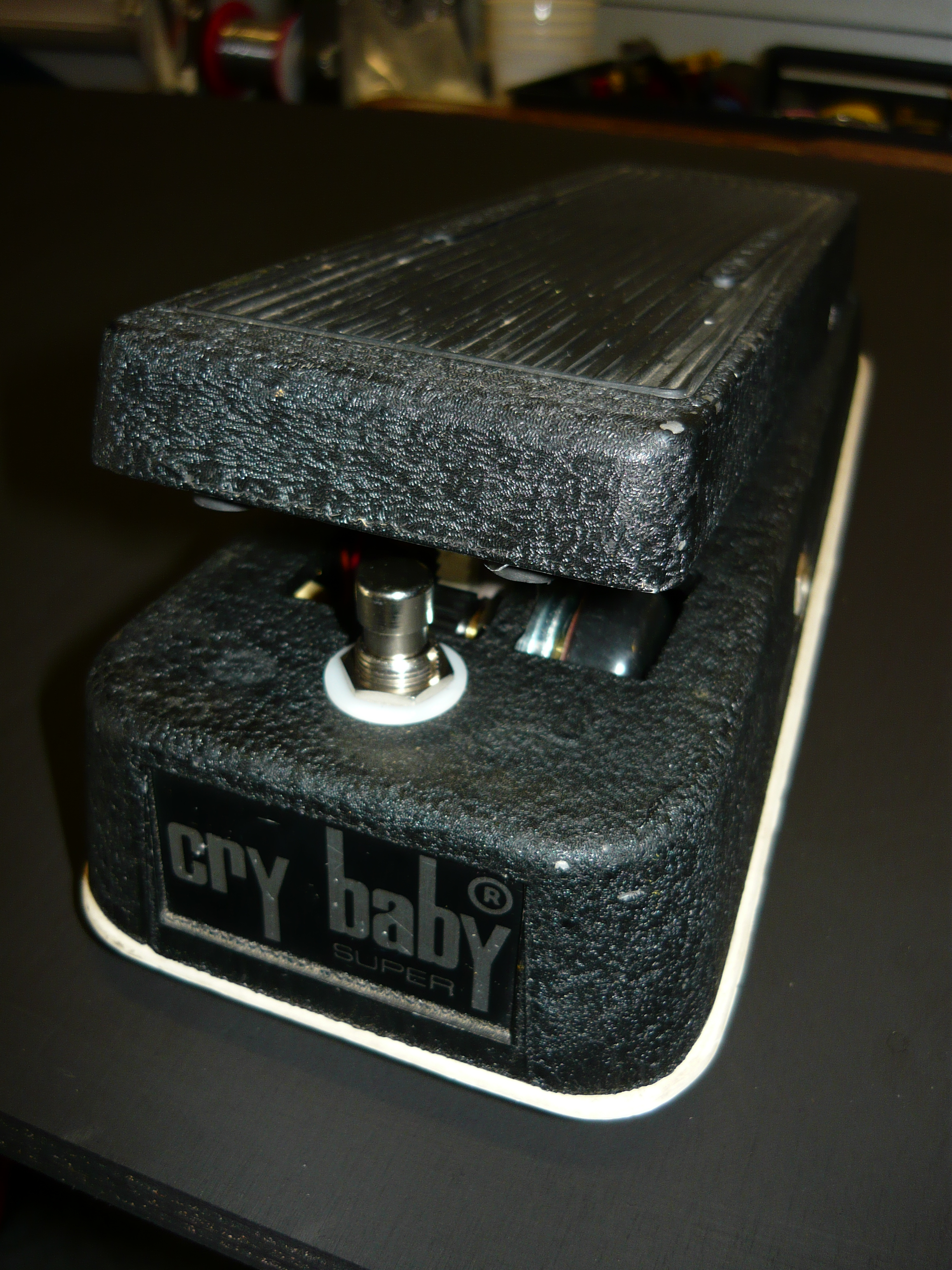 Another Wah Pedal Blog The Cry Baby Super By Jen Of Italy