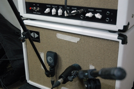 Richards 15W Expressionist amp. Recording session - Slow Chase.