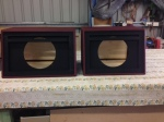 the pair of 1x12 Hame cabs under construction