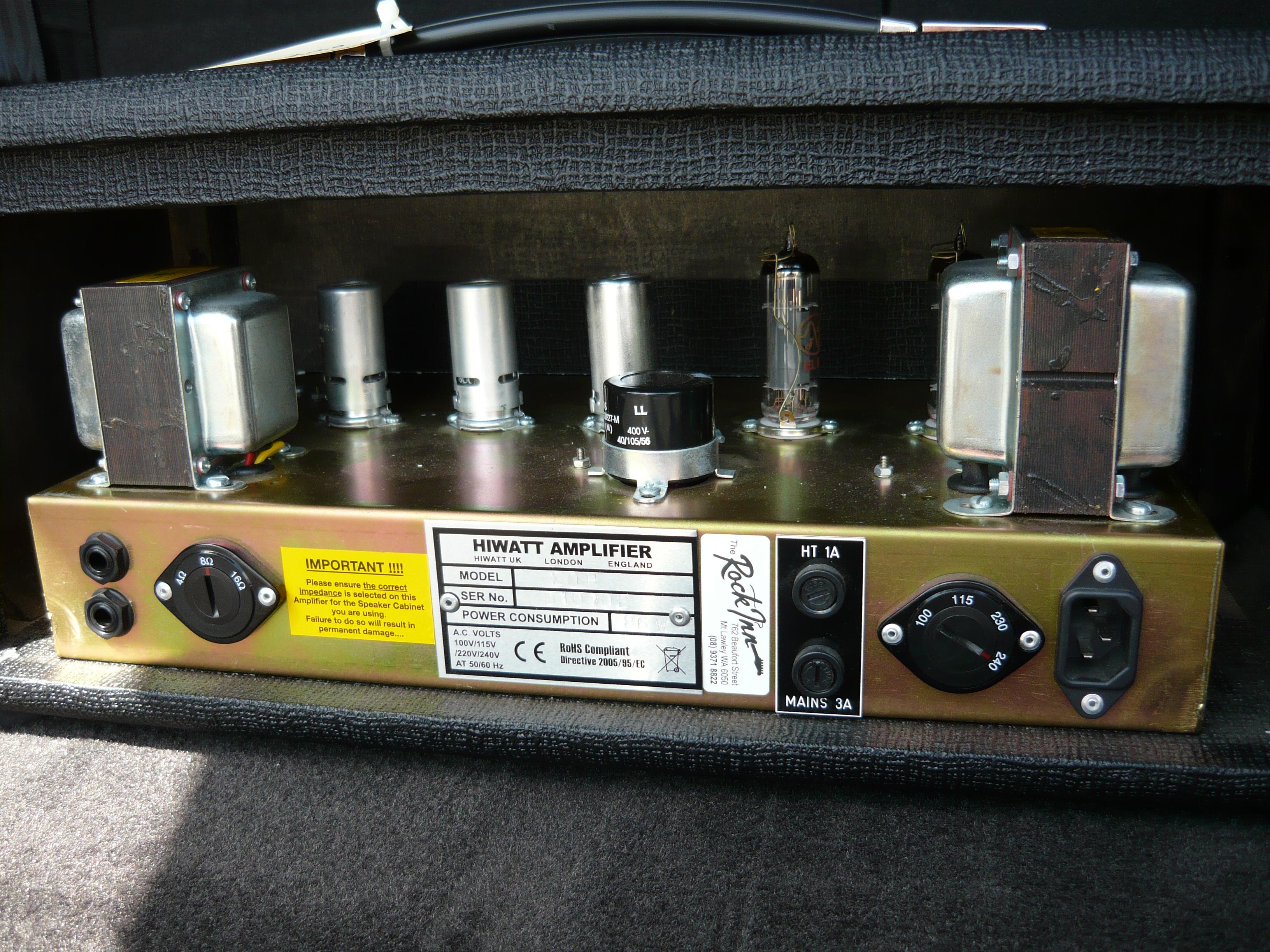 December 2013 Ivanrichards Higain Speaker Listening Amplifier Circuit Kit Aa5 Hiwatt 20h