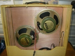 Installing a pair of Celestion 'Greenbacks' into Steve's amp