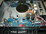 inside the Hartke bass amp