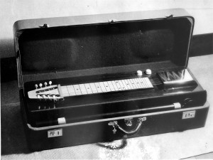 The Kord King was intended to be easy to transport to gigs.