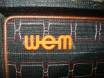 the distinctive WEM badge and grille cloth