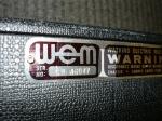 WEM serial # CW46047