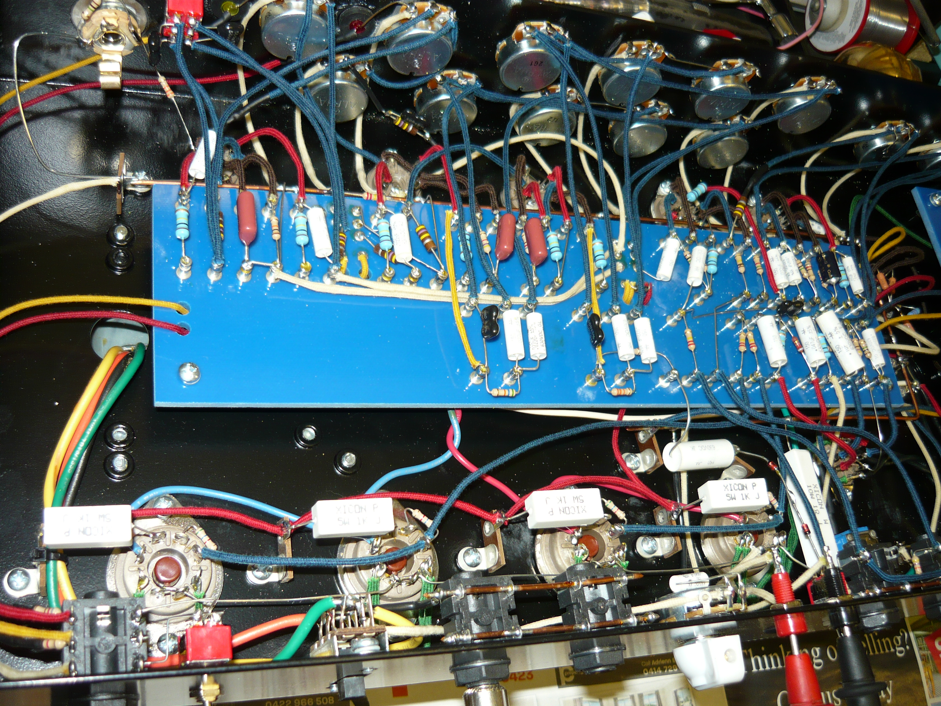 Amp Repair Ivanrichards Page 2 Higain Speaker Listening Amplifier Circuit Kit Aa5 Landry Turret Board And Hand Wiring