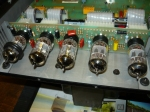 a total of five 12AX7 preamp valves (tubes)